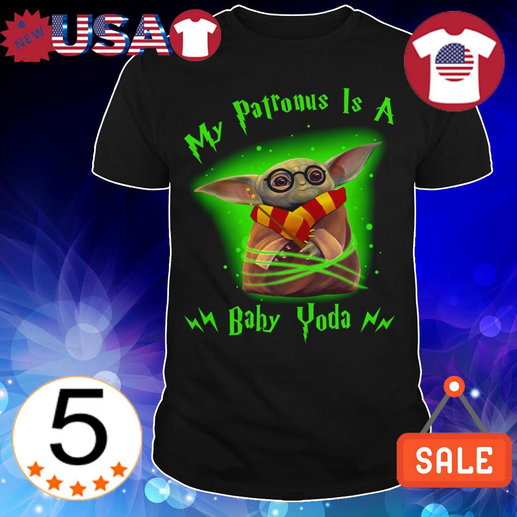 Star Wars My Patronus is a Baby Yoda shirt