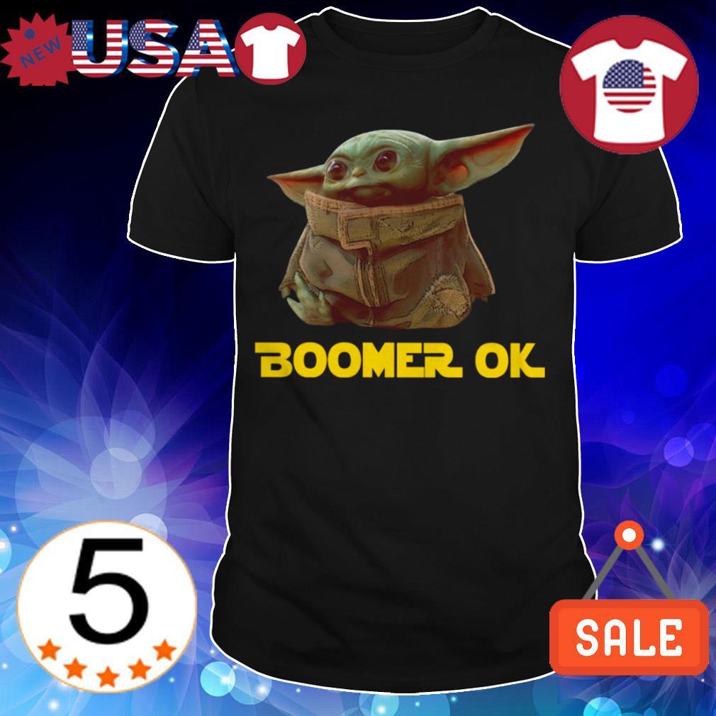 Star Wars Baby Yoda boomer ok shirt