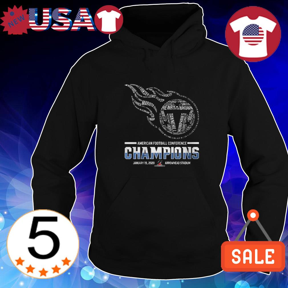 Tennessee Titans American Football Conference Champions shirt