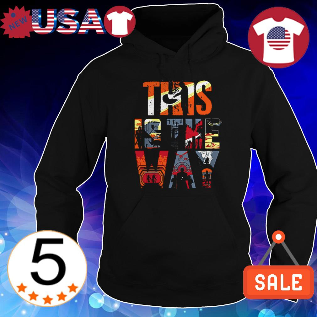Star Wars The Mandalorian this is the way shirt