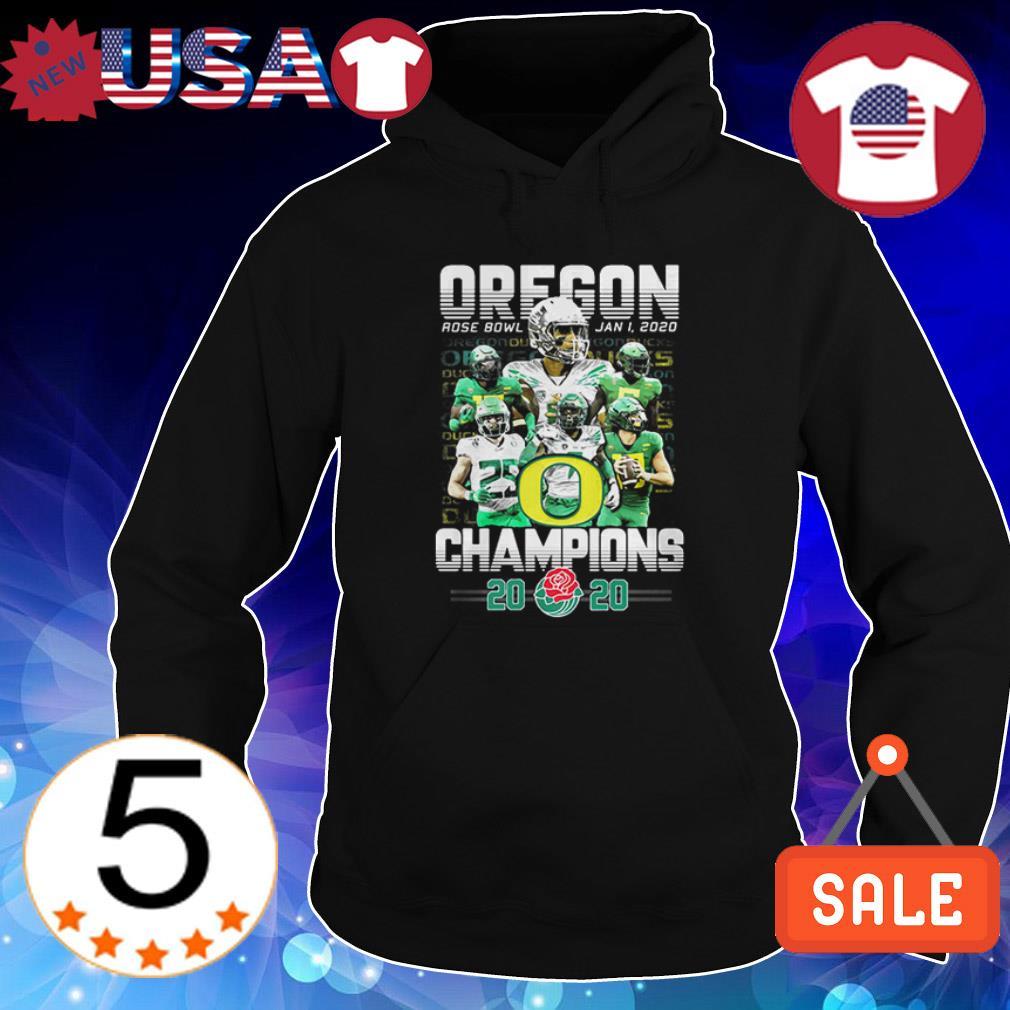 Oregon Ducks 2020 Rose Bowl Champions shirt