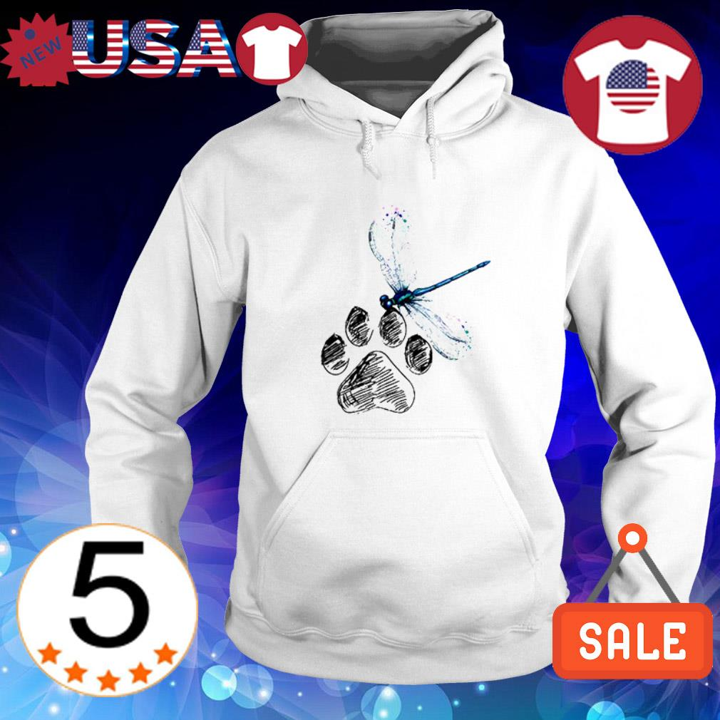 Official Dragonfly Dog Paw shirt