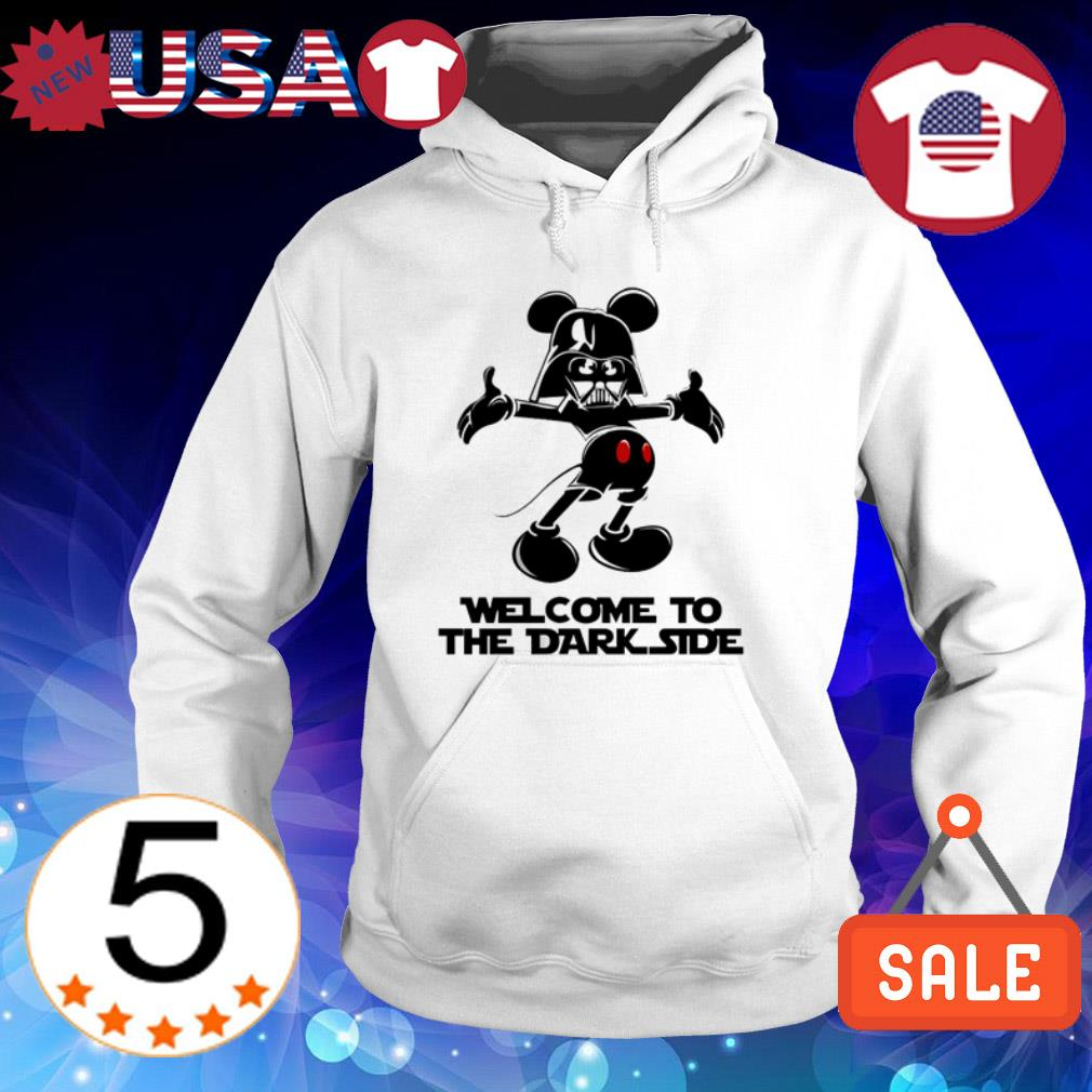 Mickey Mouse Darth Vader welcome to the dark side shirt
