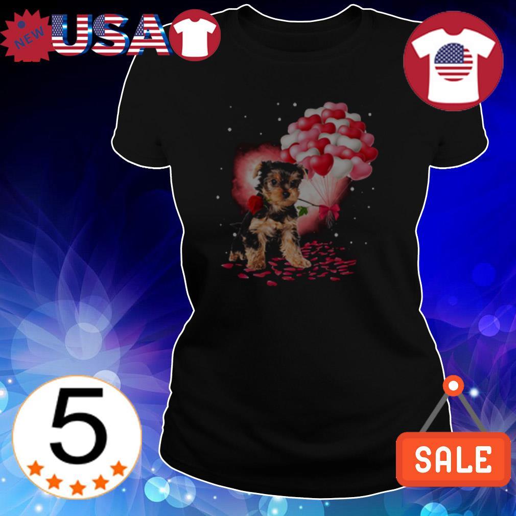 Yorkshire Terriers love balloon shirt