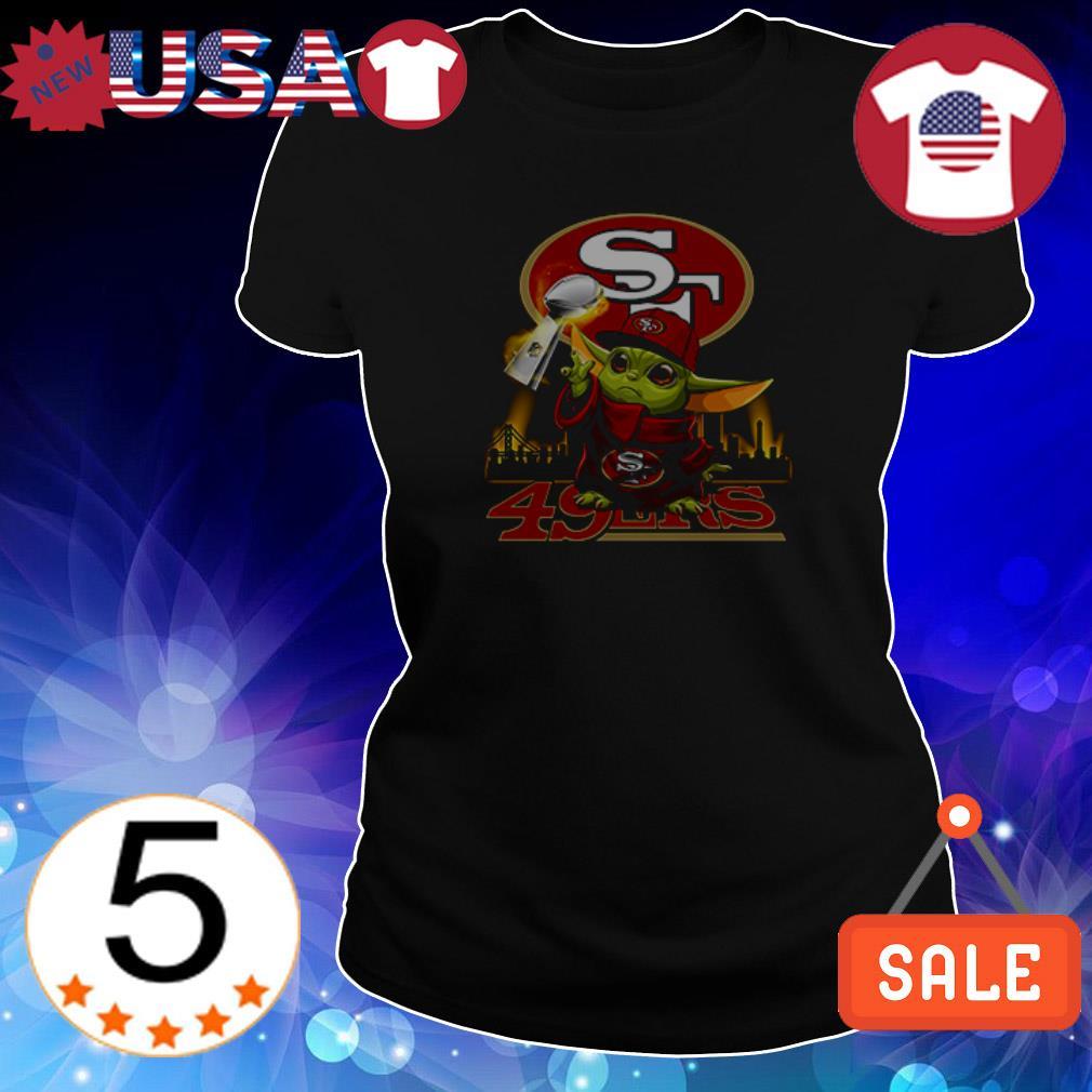 Baby Yoda San Francisco 49ers shirt