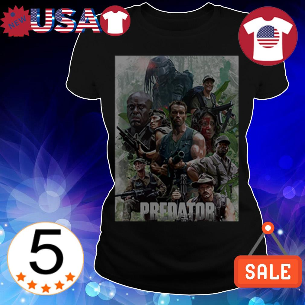 Official Predator movie shirt
