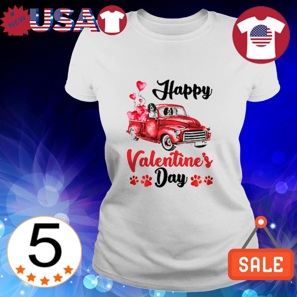 English Springer Spaniel Happy Valentine's Day shirt