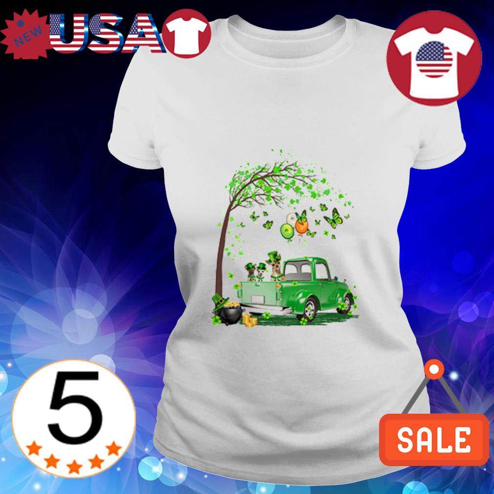 Chihuahua Truck St Patrick's Day shirt