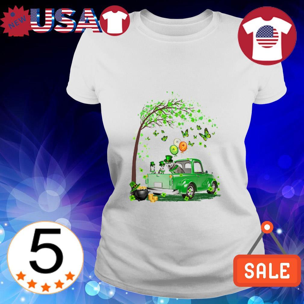 Husky Truck St Patrick's Day shirt