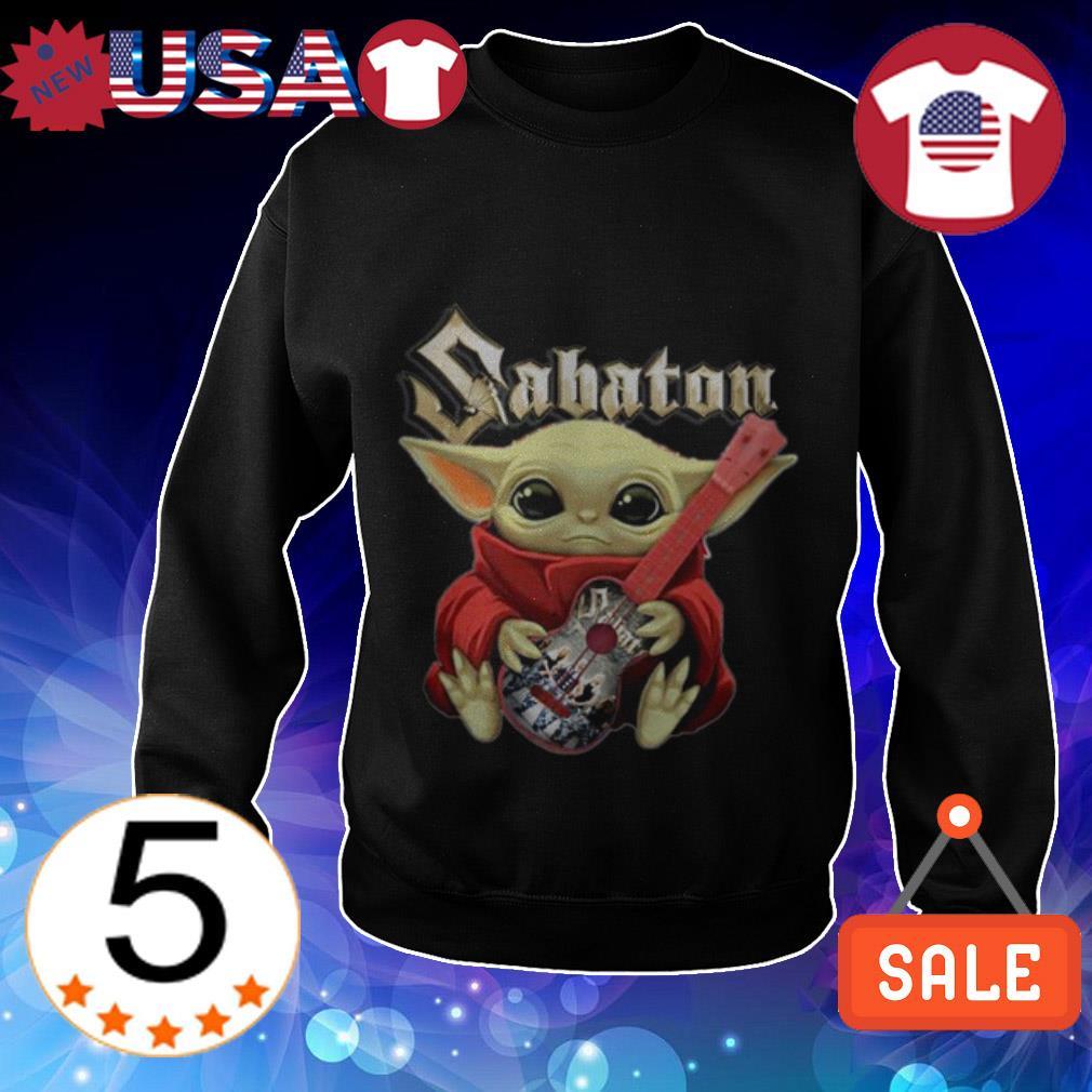 Star Wars Baby Yoda hug Sabaton shirt