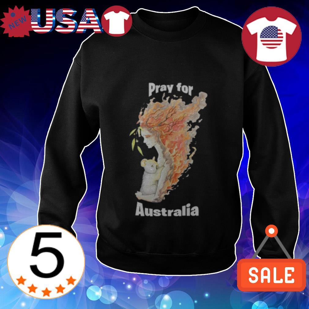 Pray For Australia Mothernaters shirt