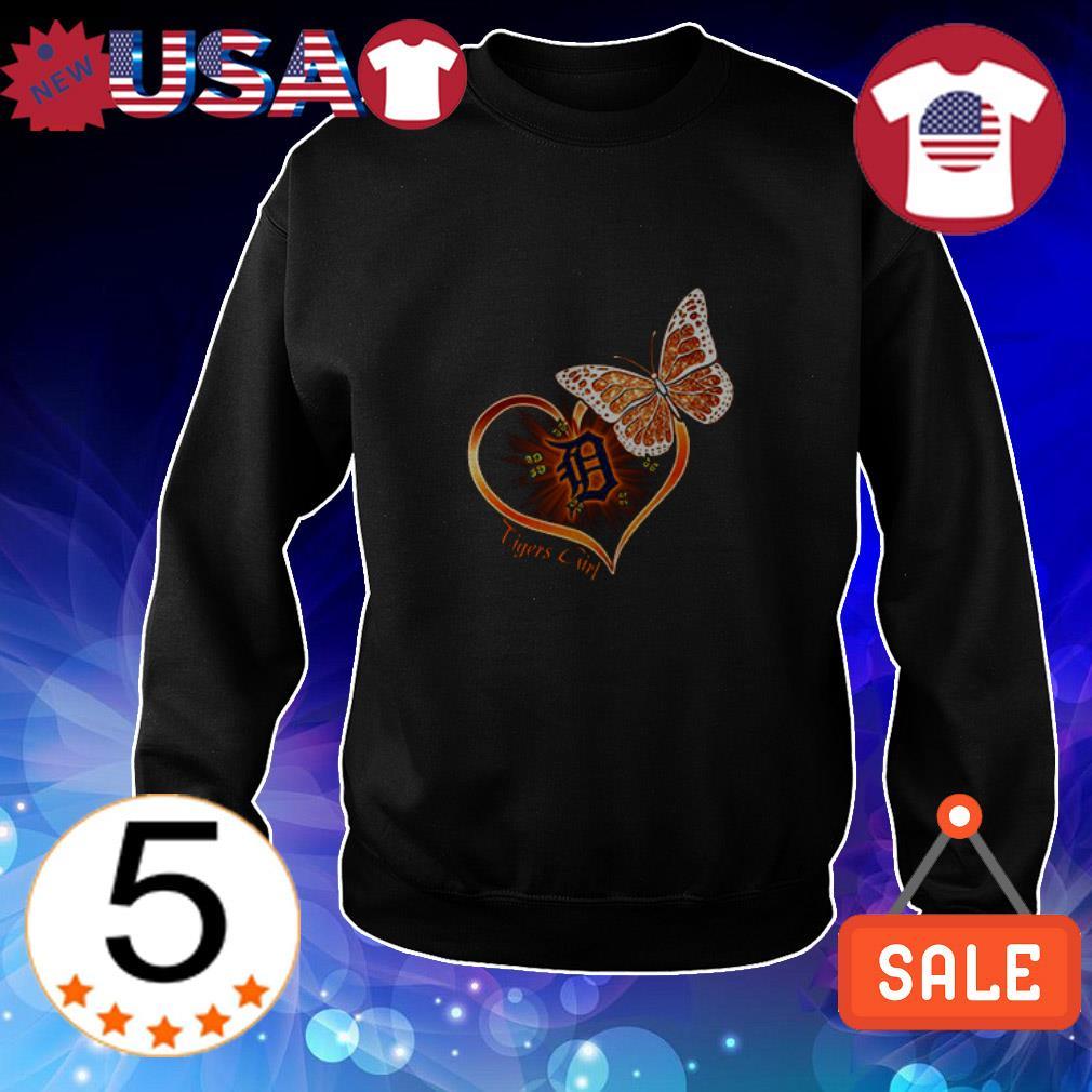 Detroit Tigers girl flowers shirt