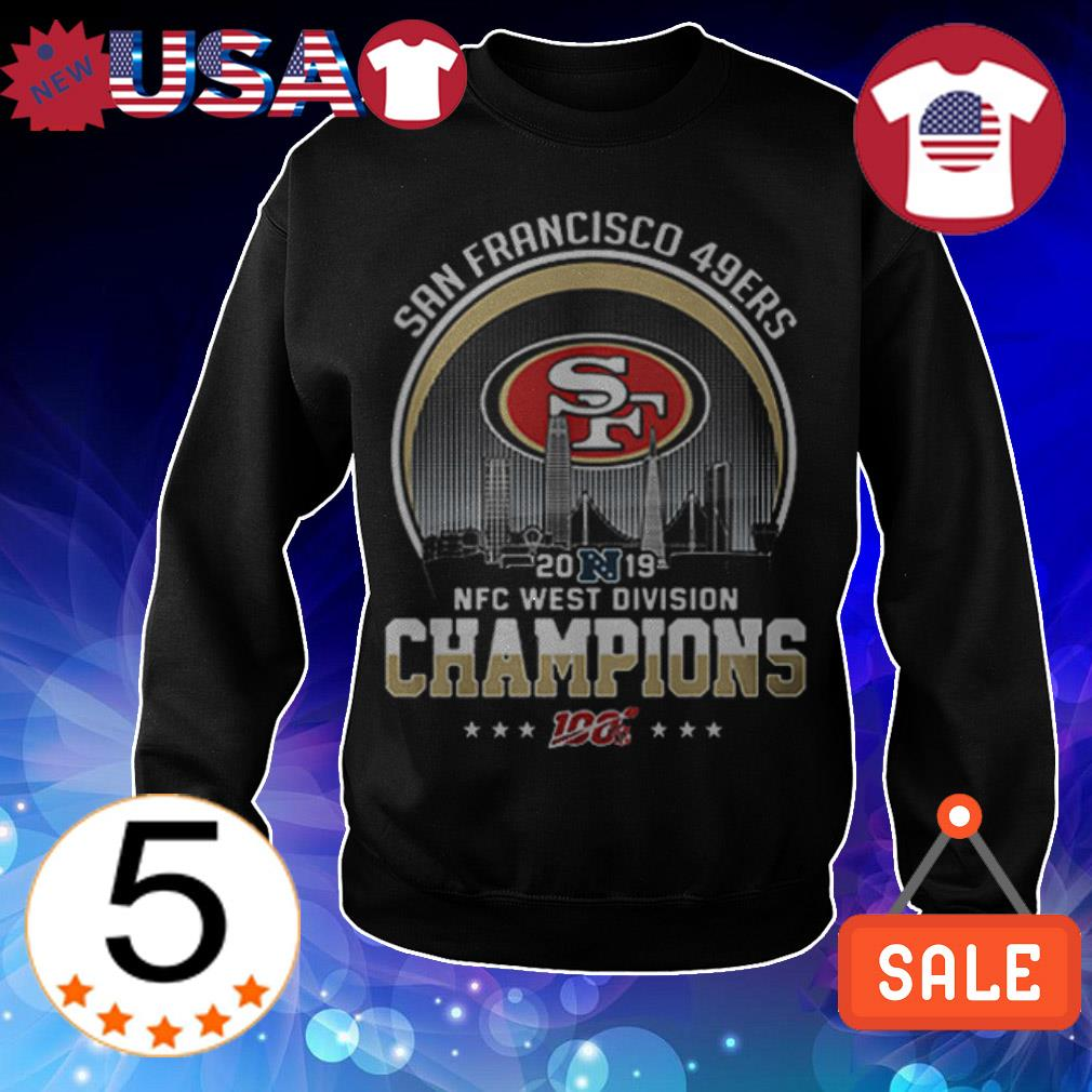 San Francisco 49ers 2019 NFC West Division Champions shirt