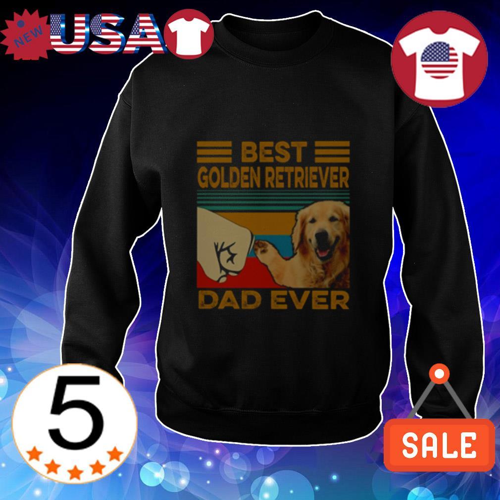 Best Golden Retriever dad ever shirt