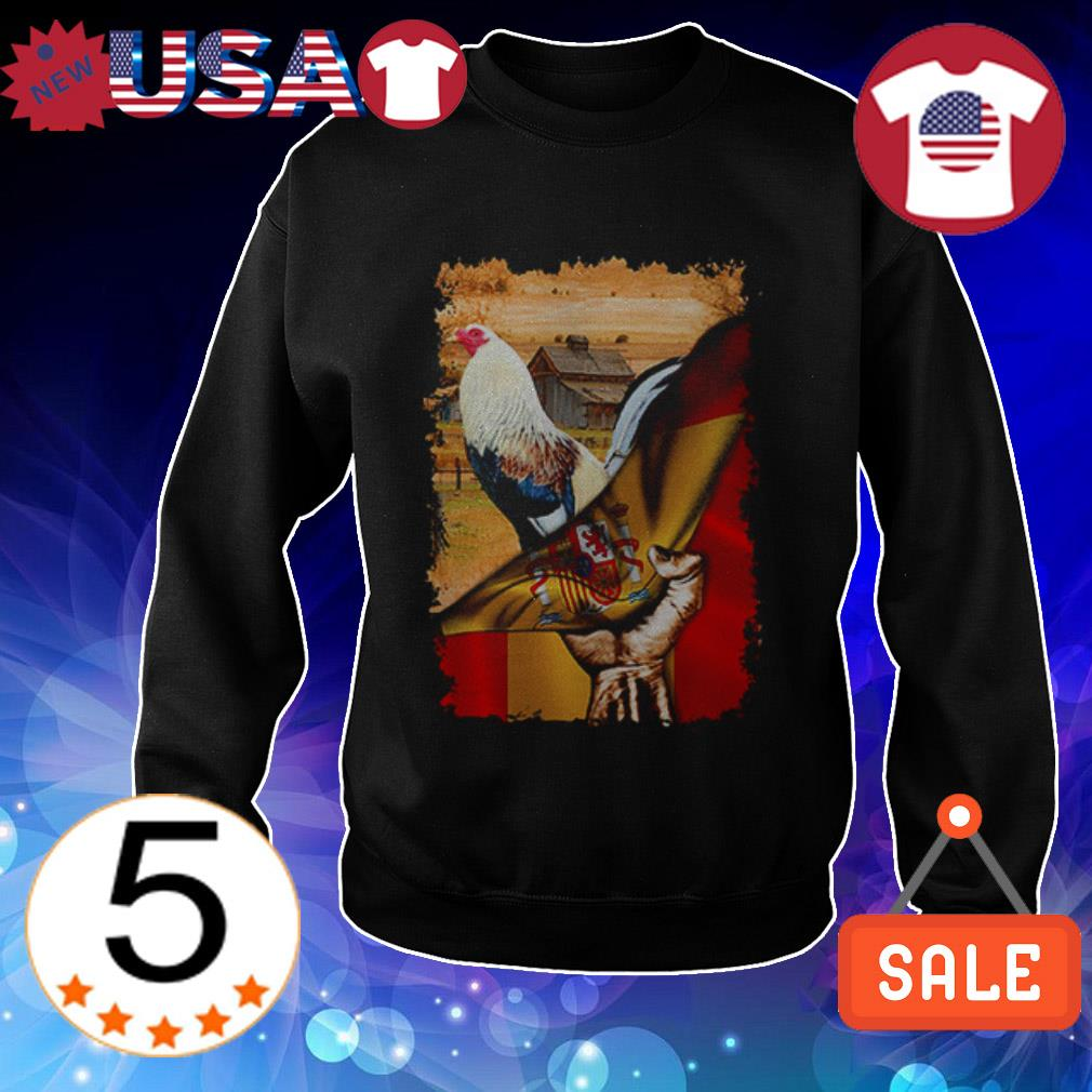Official Rooster Spanish Flag shirt