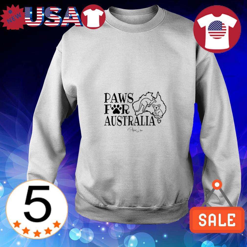 Kangaroo and Koala paws for Australia shirt