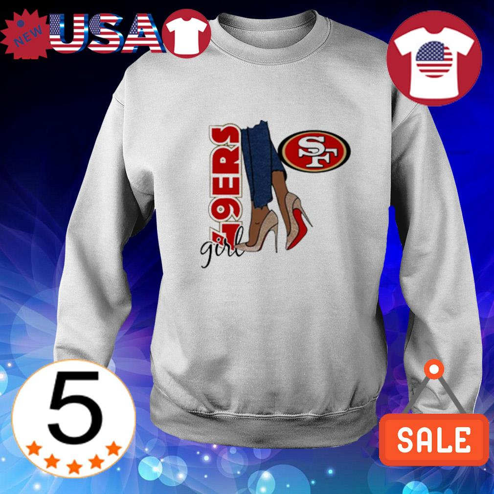 San Francisco 49ers girl shirt
