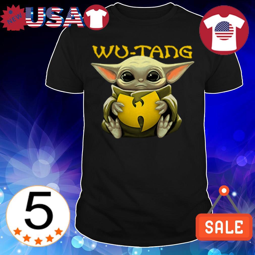 Star Wars Baby Yoda hug Wu Tang shirt
