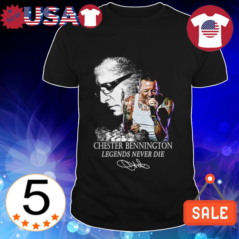 Chester Bennington Legends Never Die signature shirt
