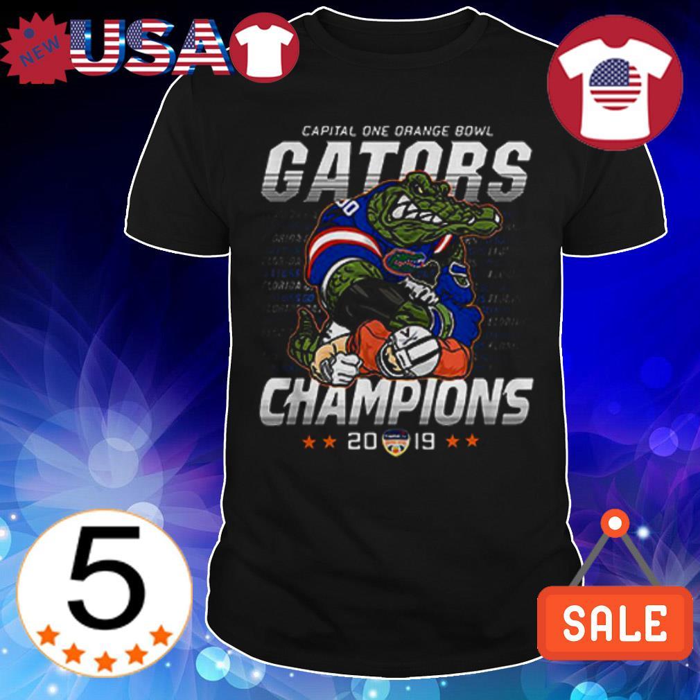 Florida Gators vs Virginia Cavaliers Capital One Orange Bowl Gators Champions shirt