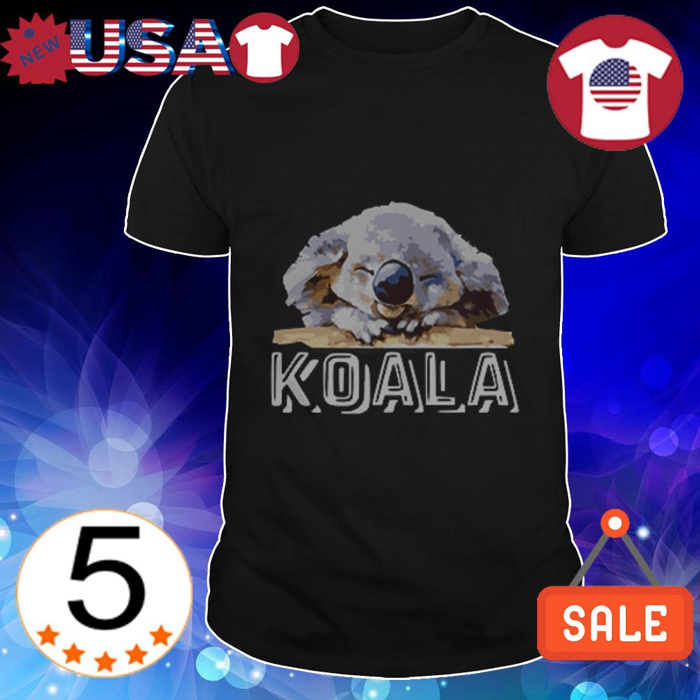 Official Koala sleeping shirt
