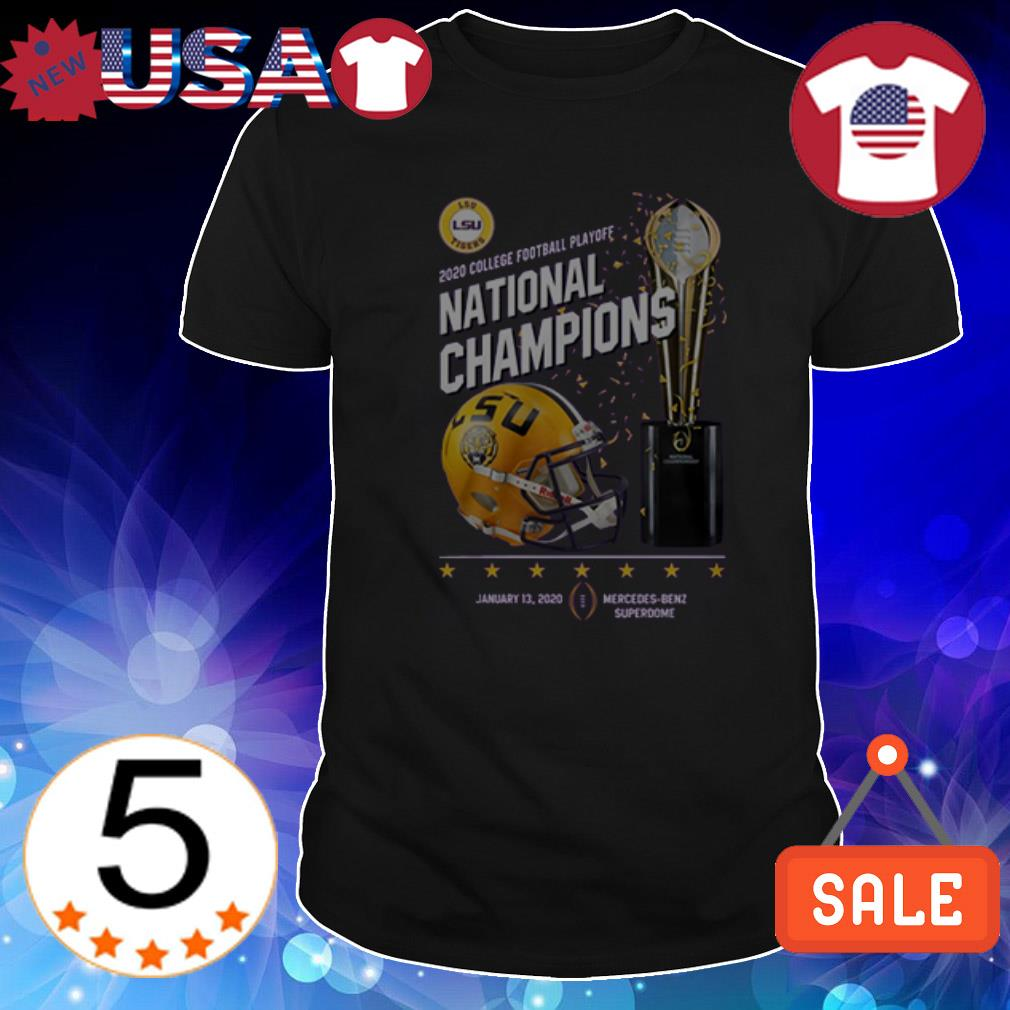LSU Tigers 2020 College Football Playoff National Champions shirt