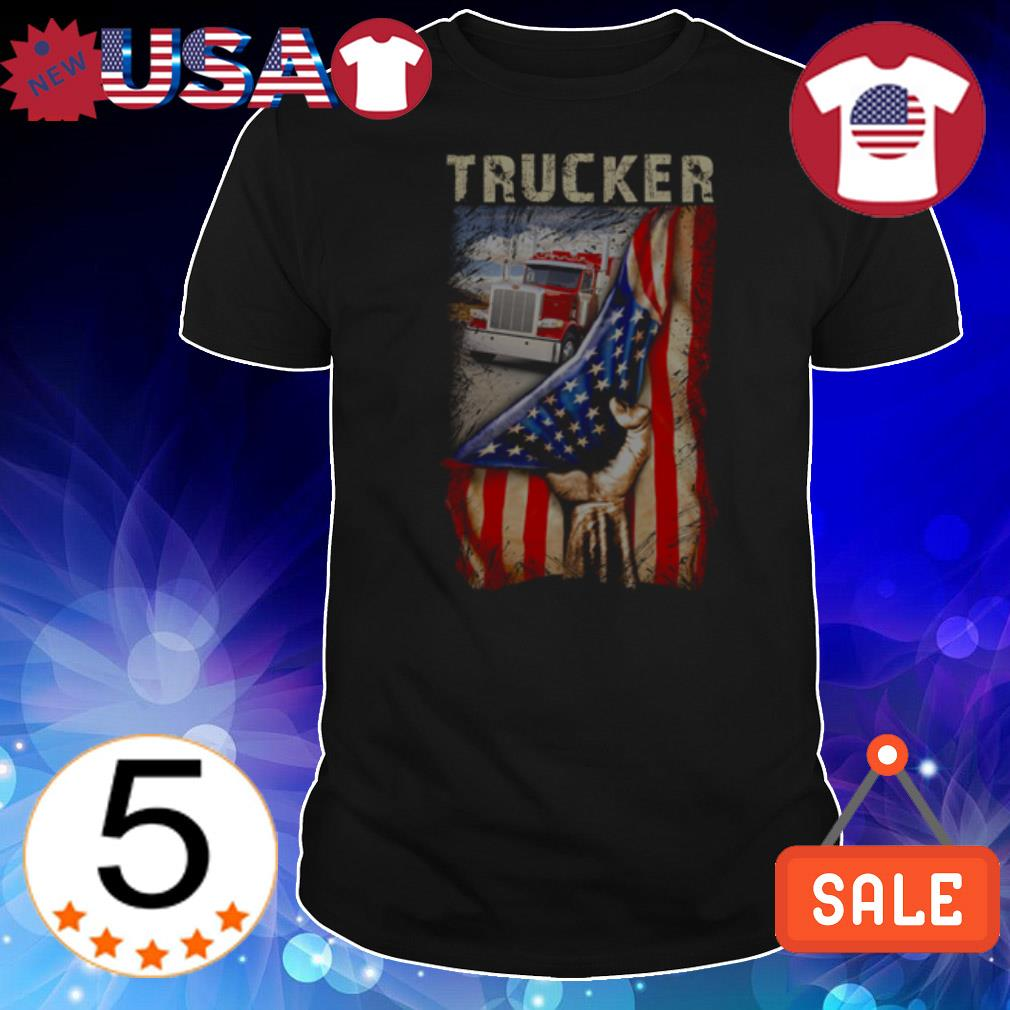 4th of july independence day Trucker shirt
