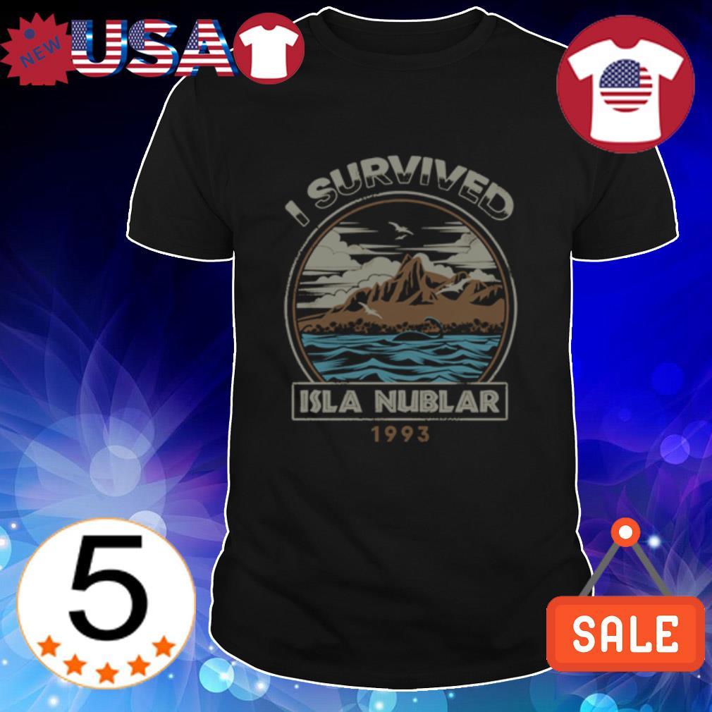 I survived Isla Nublar 1993 shirt