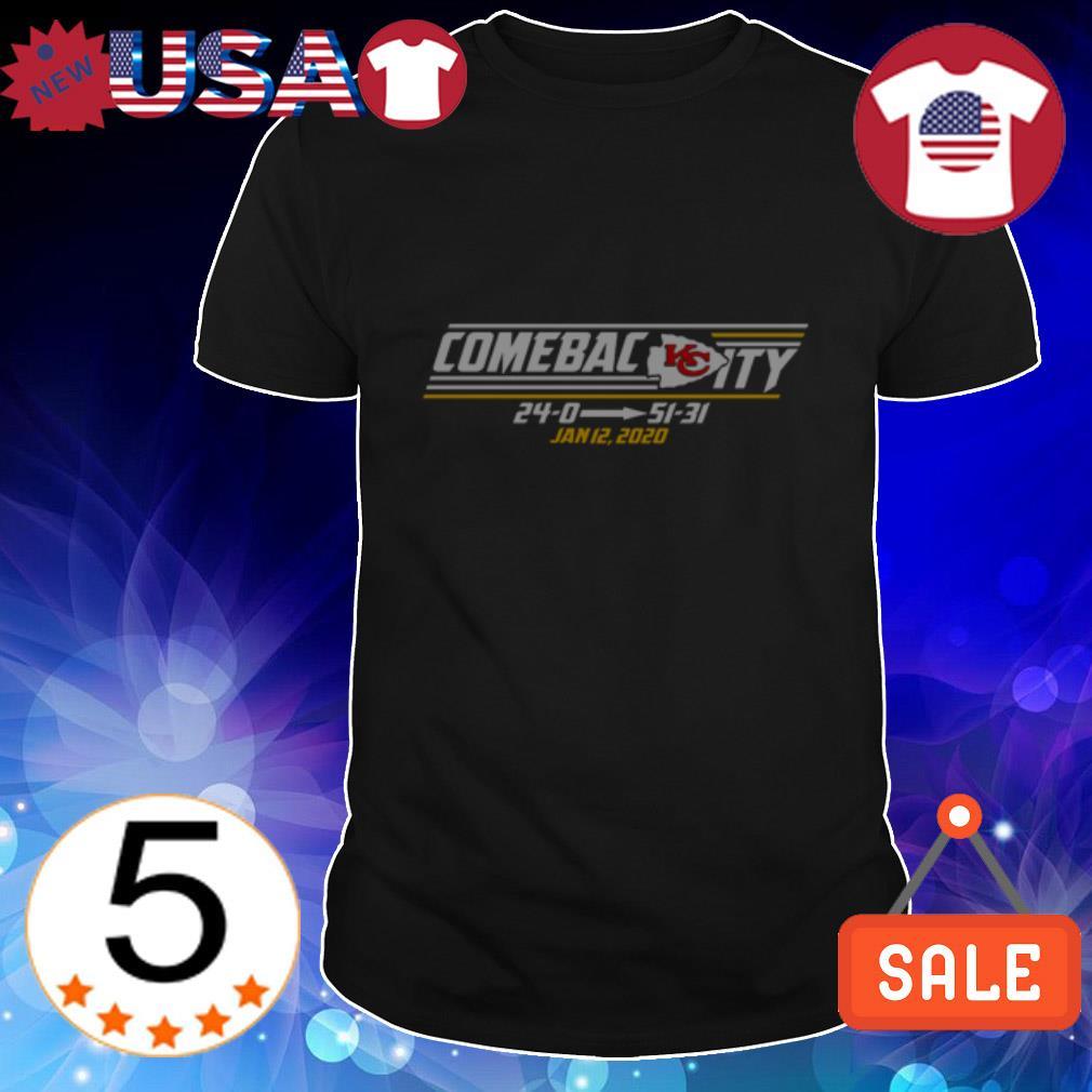 Kansas City Chiefs Comeback City shirt