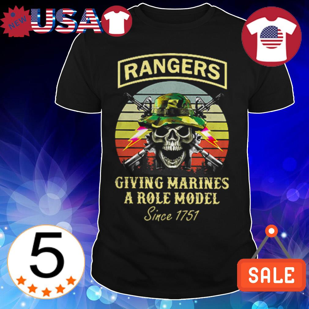 Rangers giving Marines a role model since 1751 shirt