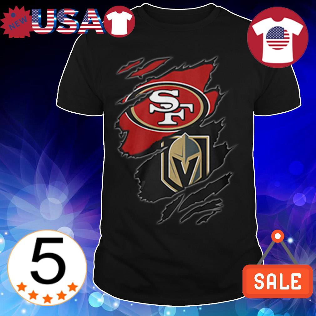 San Francisco 49ers vs Golden Knights shirt