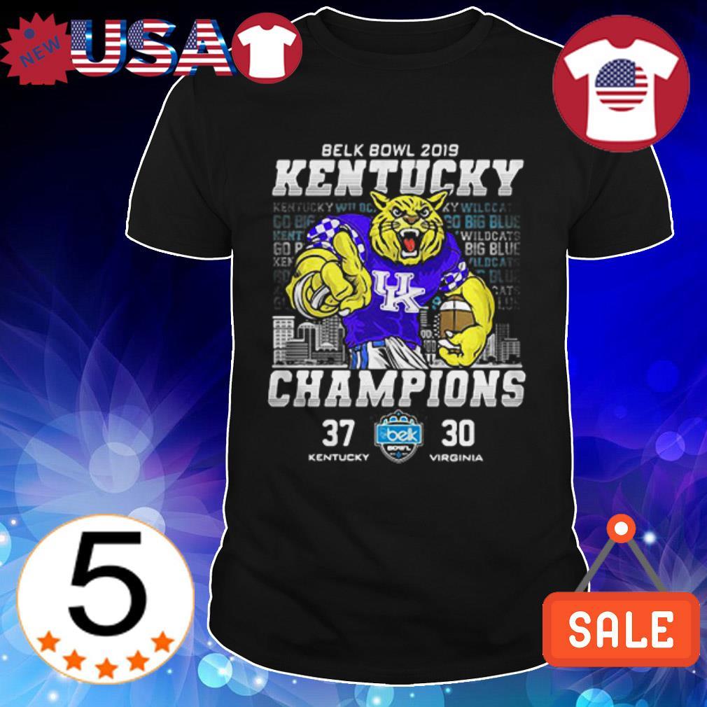 Kentucky Wildcats vs Virginia Mountaineers Belk Bowl 2019 shirt
