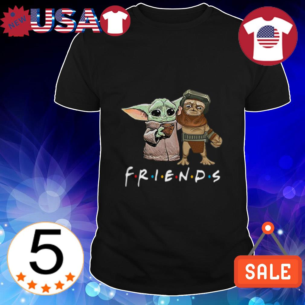 Baby Babu Frik and Baby Yoda Friends shirt