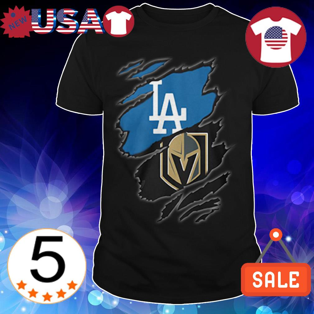 Los Angeles Dodgers vs Golden Knights shirt