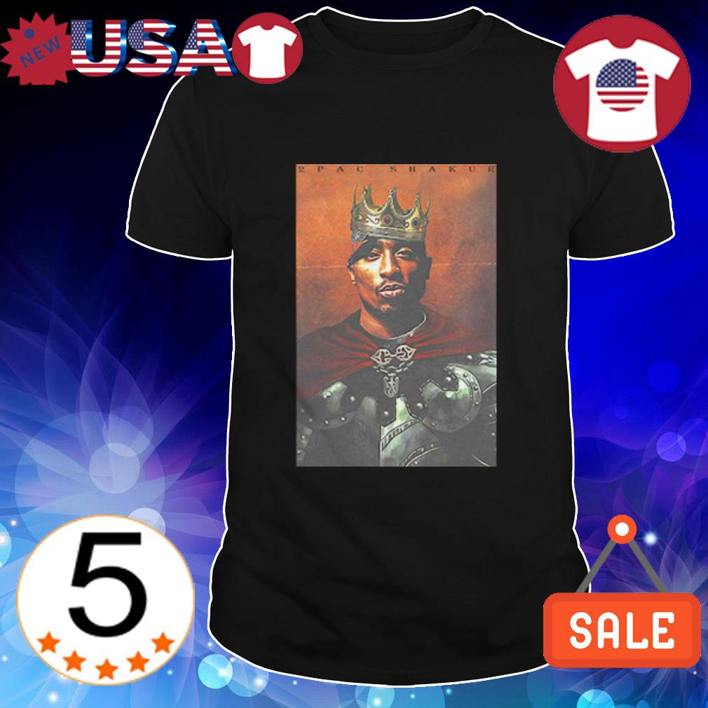 Official 2Pac Shakur King shirt