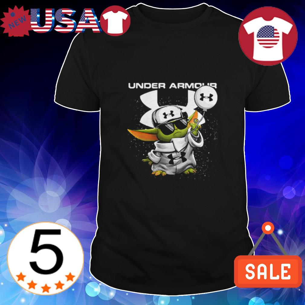 Under Armour Baby Yoda shirt