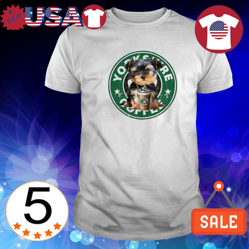 Yorkshire Terriers Coffee shirt