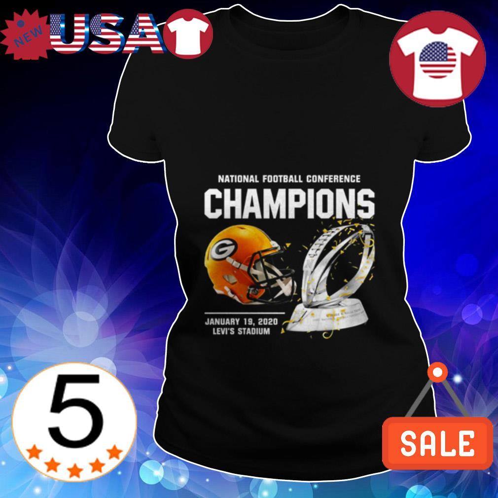 Green Bay Packers American Football Conference Champions Ladies Tee