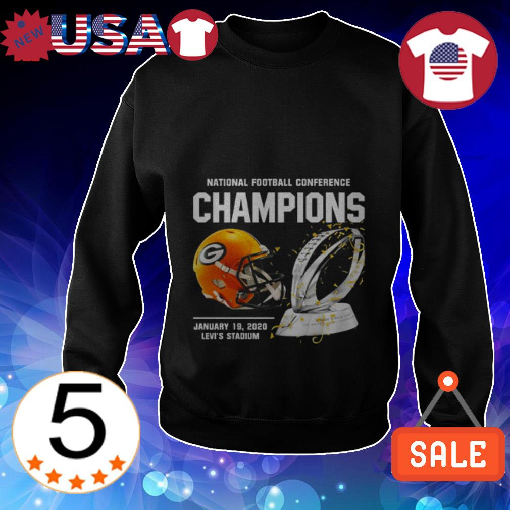 Green Bay Packers American Football Conference Champions Sweater