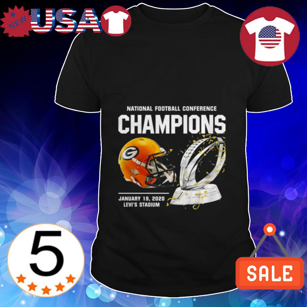 Green Bay Packers American Football Conference Champions shirt