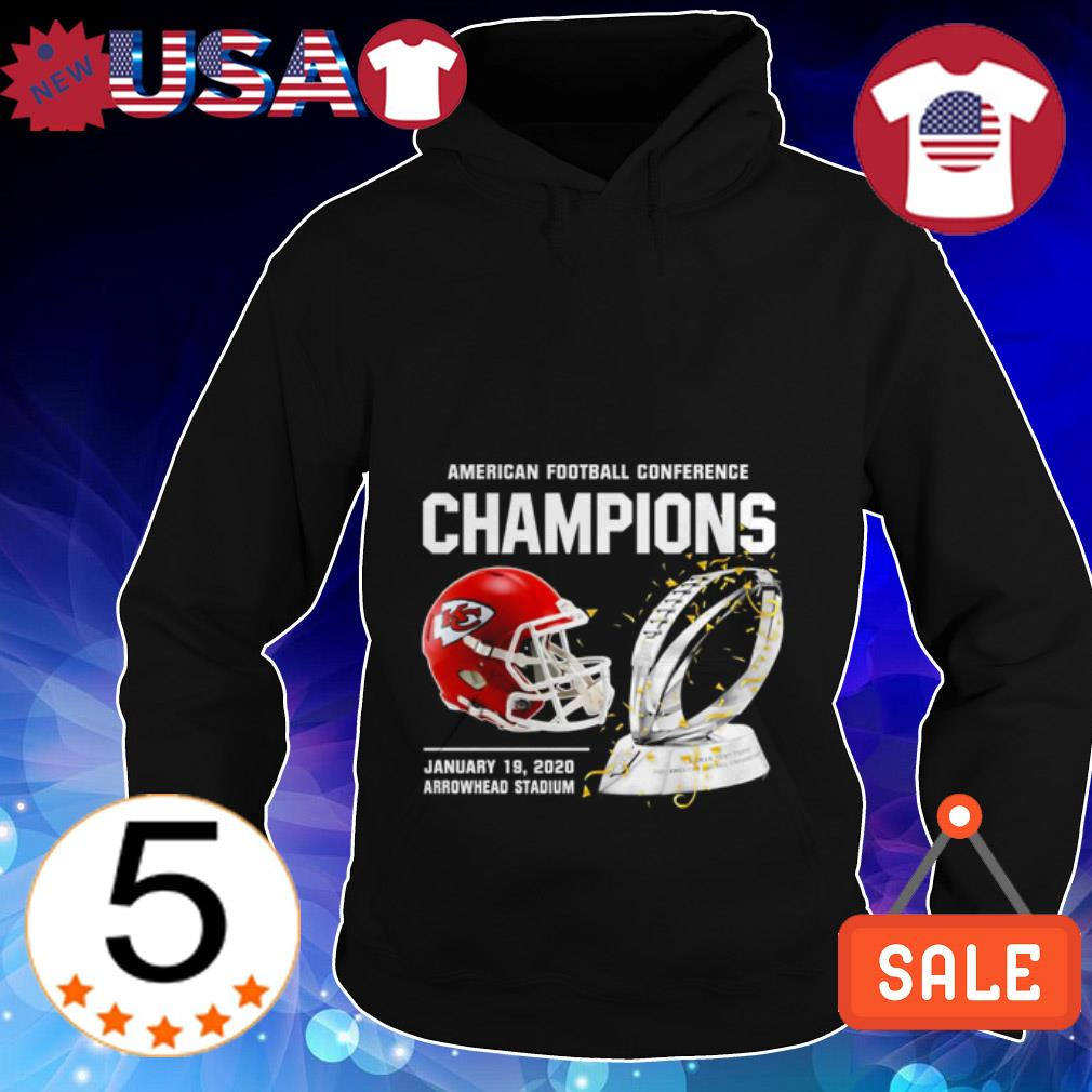Kansas City Chiefs American Football Conference Champions Hoodie