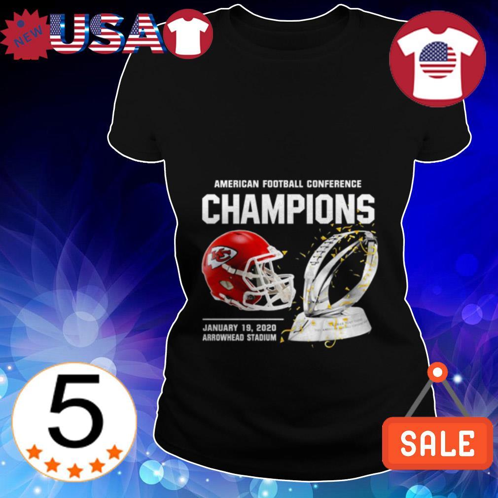 Kansas City Chiefs American Football Conference Champions Ladies Tee