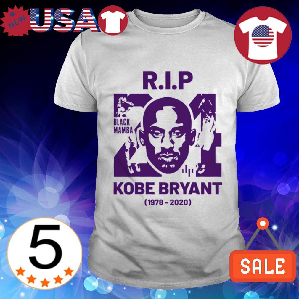Rip Kobe Bryant Black Mamba 1978-2020 shirt