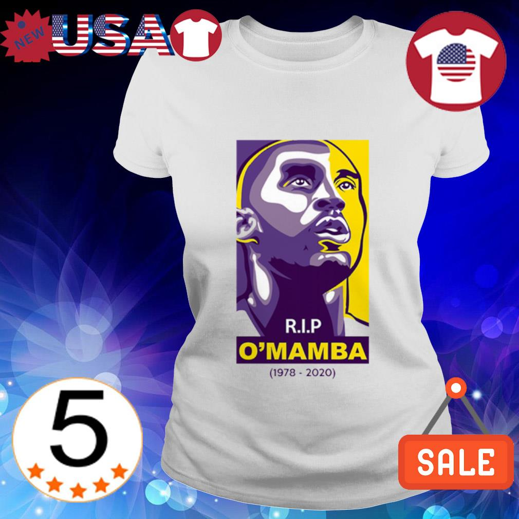 Rip O'mamba 1978 2020 Kobe Bryant Ladies Tee