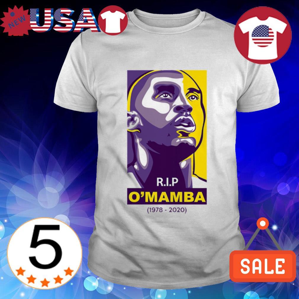 Rip O'mamba 1978 2020 Kobe Bryant shirt