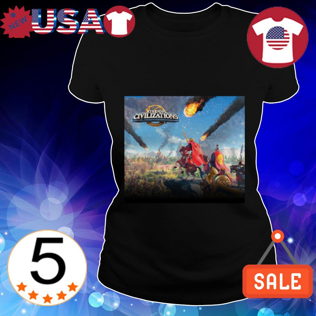 Rise of Civilizations Rise of Kingdoms Ladies Tee