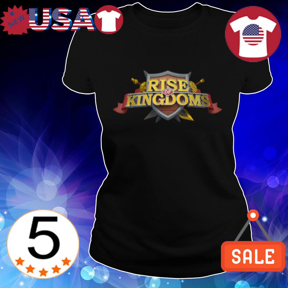 Rises of Kingdoms Logo Ladies Tee