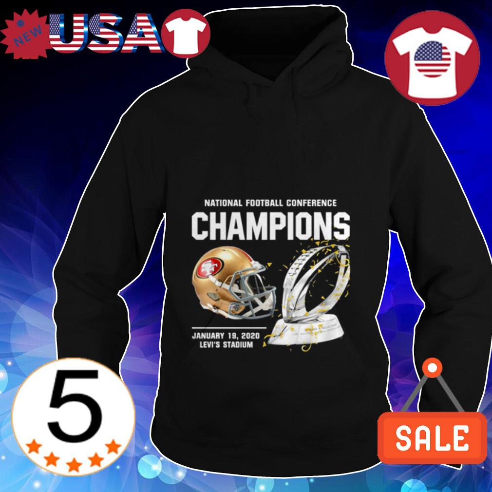 San Francisco 49ers American Football Conference Champions Hoodie