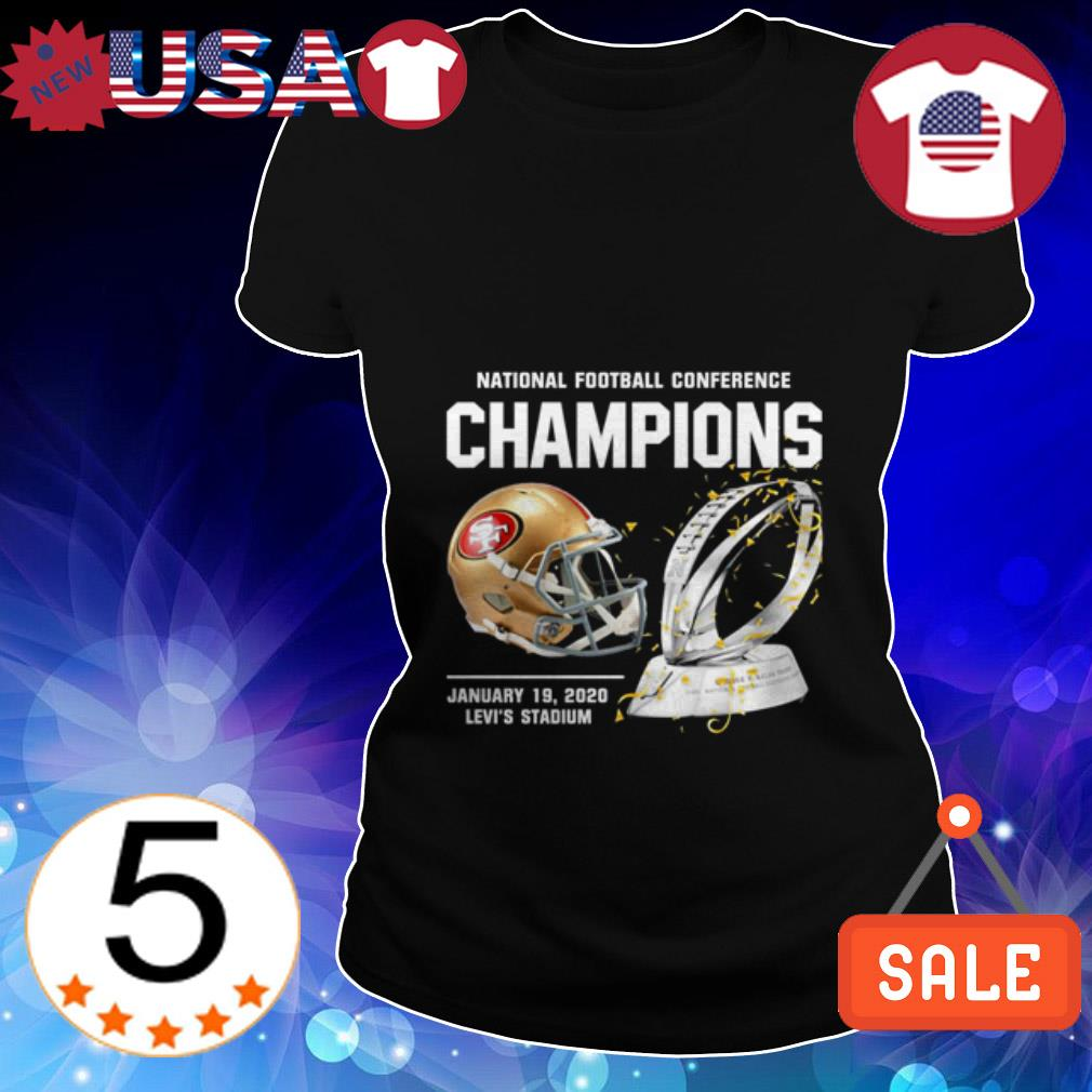 San Francisco 49ers American Football Conference Champions Ladies Tee