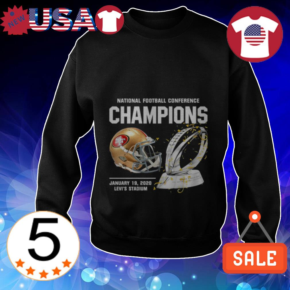 San Francisco 49ers American Football Conference Champions Sweater